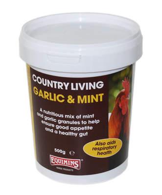 Equimins hvitløk- og myntegranulat 500 g