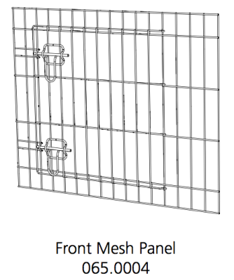 Better Crate Front Mesh Assembly 24 (065.0004)