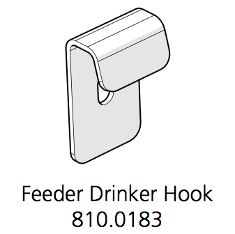 Cube Mk2 Feeder and Drinker Hook (810.0183)