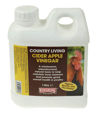 Equimins Cider Apple Vinegar 1 Litre