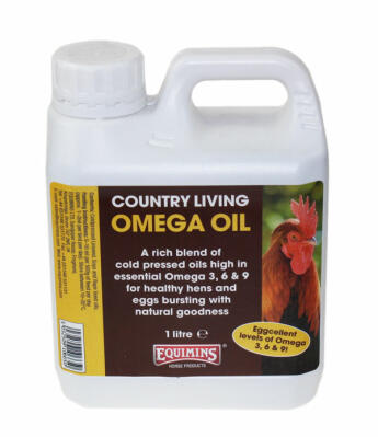 Equimins omegaolja - 1liter