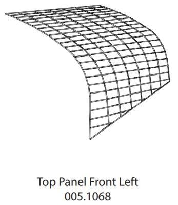 Run Panel Go Top Front Left (005.1068)