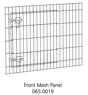 Better Crate Front Mesh Assembly 36 (065.0019)