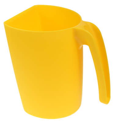Jug Feed Scoop Yellow