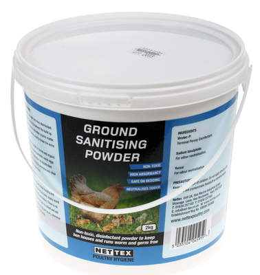 Nettex Ground Sanitising Powder 2kg