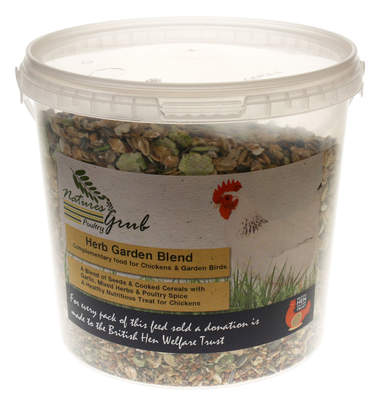Nature's Grub kruidentuin mix - 1.2kg