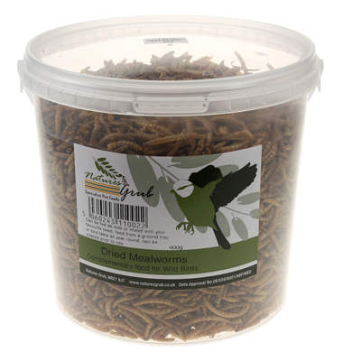 Nature's Grub Dried Mealworms - 400g