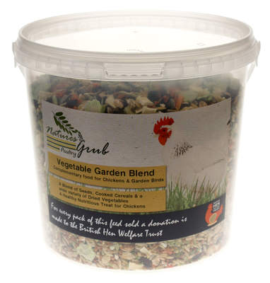 Nature's Grub groententuin mix - 1.2kg