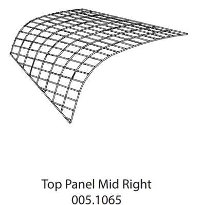 Run Panel Go Top Mid Right (005.1065)