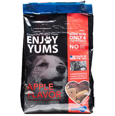 Enjoy Yums Doggie Treats Apple 1 lb