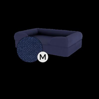 Bolster Dog Bed Cover Only - Medium - Midnight Blue