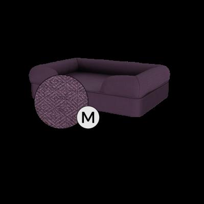 Bolster Dog Bed Cover Only - Medium - Plum Purple