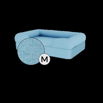 Bolster Dog Bed Cover Only - Medium - Sky Blue