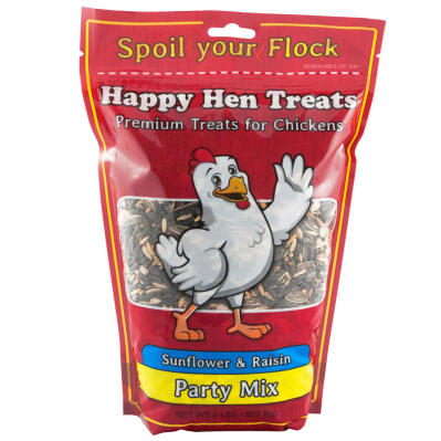 Happy Hen Treats Party Mix Sunflower & Raisin 2 lbs