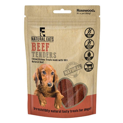Natural Eats Beef Strips hondensnack - 80g