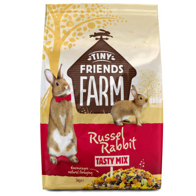 Tiny Friends Farm Russel Rabbit Tasty Mix - Kaninfoder - 5kg