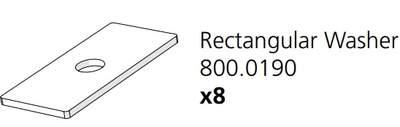 Cube Mk2 Rectangular Washer Cube Run (800.0190)