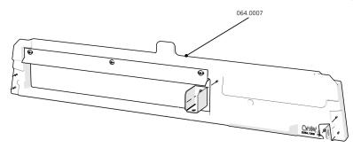 Cube Mk2 Back Bar Assembly Chicken (064.0007)