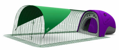 Eglu Classic Rabbit Hutch with 2m Run - Purple