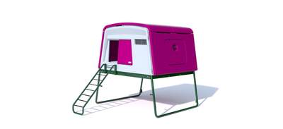 Eglu Cube Large Chicken Coop with Accessories - Purple