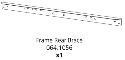 Cube Mk2 Frame Rear Brace (064.1056)