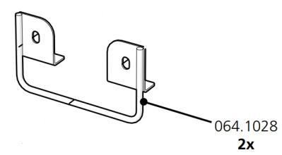 Cube Mk2 U Bracket Back Door (064.1028)
