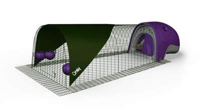 Eglu Classic Duck House with 2m Run - Purple