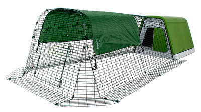 Eglu Go Chicken Coop with 6ft Run Package - Leaf Green