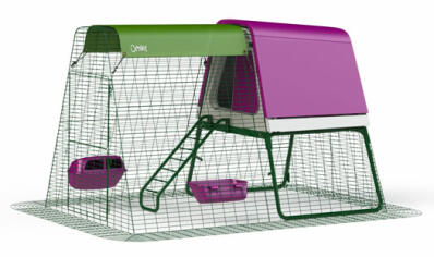 Eglu Go UP Chicken Coop with 6ft Run Package - Purple