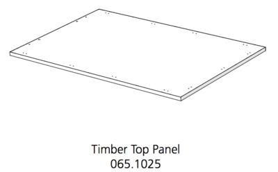 Fido Studio Timber Panel Top 36 White (065.1025.0001)