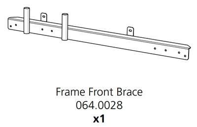 Cube Mk2 Frame Front Brace Assembly (064.0028)