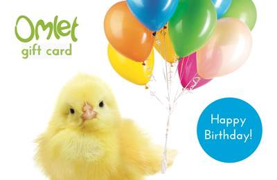 Gift Card - Birthday Chick