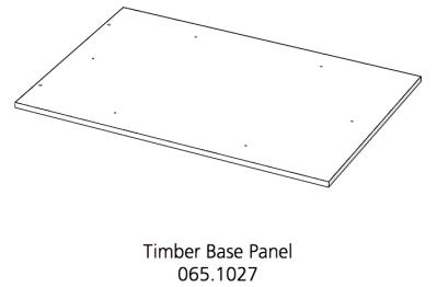 Fido Studio Timber Panel Base 36 White (065.1027.0001)