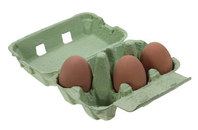 Egg Boxes - Green Pack of 20