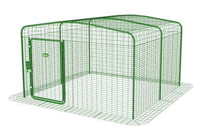 Outdoor Guinea Pig Run - 6ft x 6ft x 3ft