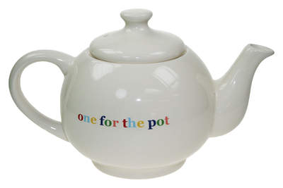 Lexicon aardewerk theepot - 'One for the pot'