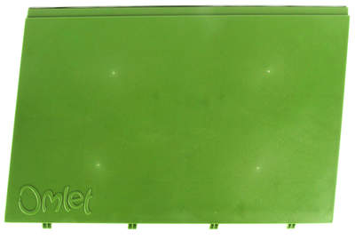 Eglu Go - Side Outer Panel Left Leaf Green