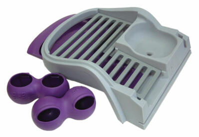 Converter Kit for Eglu Classic - Rabbit to Chicken - Purple