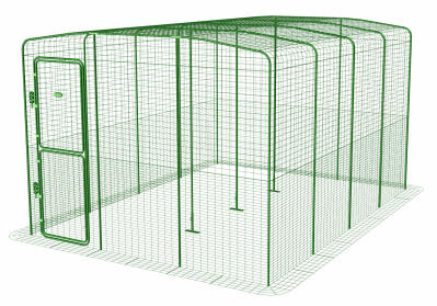 Outdoor Guinea Pig Run - 9ft x 13ft x 6ft