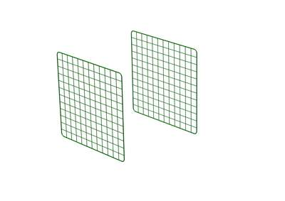 Zippi Rabbit Run Extension Panels - Single Height - Pack of 2
