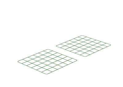 Zippi Rabbit Run Underfloor Panels - Pack of 2