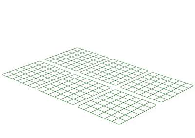 Zippi Guinea Pig Run Underfloor Panels - Pack of 6