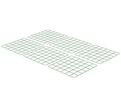 Zippi Rabbit Run Underfloor Panels - Pack of 6