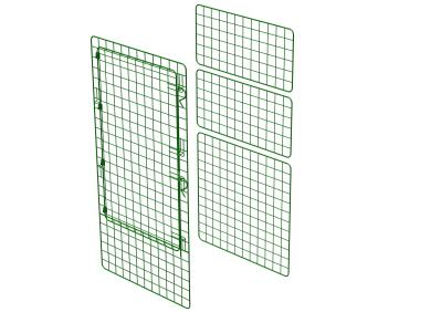 Zippi Rabbit Playpen Conversion Kit - Basic to Starter - Double Height