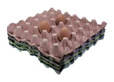 Vassoi per uova - Pacco da 8