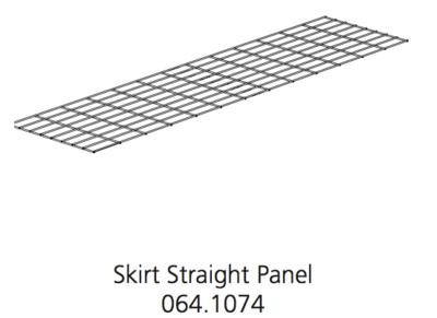 Cube Mk2 Run Panel Skirt Straight (064.1074)