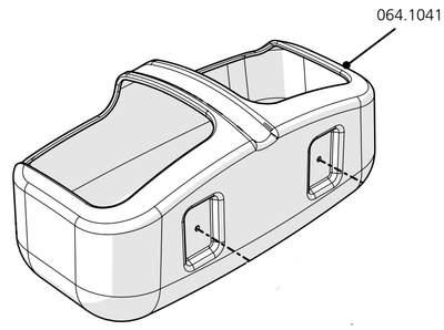 Cube Mk2 Drinker Body (064.1041) - Green