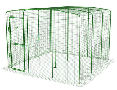 Outdoor Guinea Pig Run - 9ft x 9ft x 6ft