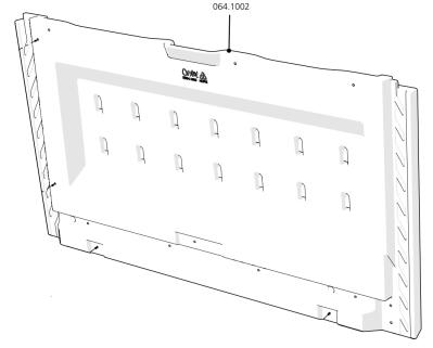 Cube Mk2 Side Panel Right (064.1002) - Green