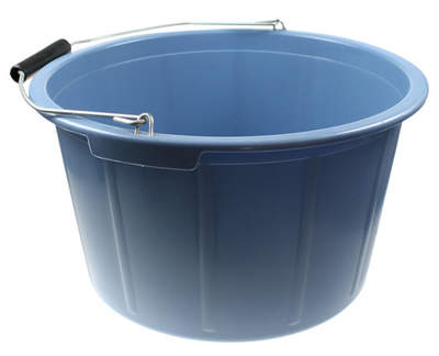 Feed Bucket 20 Litre Blue